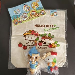 """Hello Kitty """"Go Green"""" limited edition set"""
